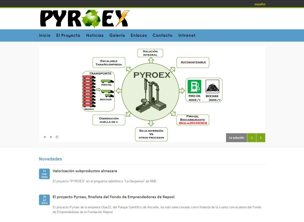 Concluye el proyecto Pyroex